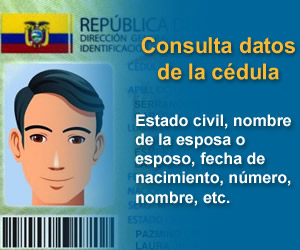 Consultar cédula Registro Civil