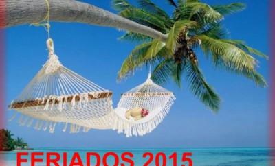 Feriados Ecuador 2015