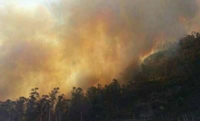 Incendio en Quito