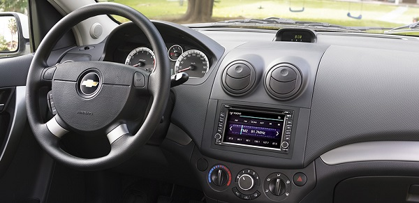 Chevrolet Aveo Sedan Emotion interior