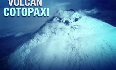 Situación del volcán Cotopaxi