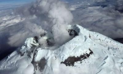 Volcán Cotopaxi en vivo