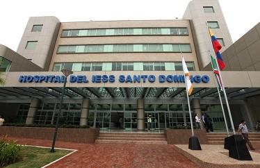 Hospital del Iess de Santo Domingo