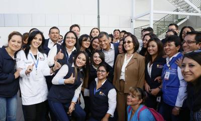 Inaguración del Hospital Gineco Obstétrico de Nueva Aurora Luz Elena Arismendy
