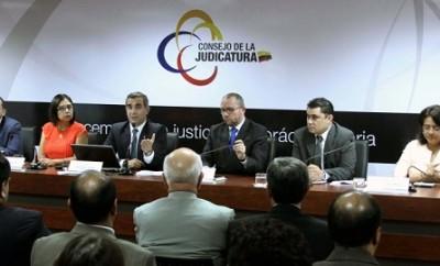 Consejo de la Judicatura suspende a Jueces