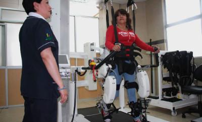 El HCAM utiliza tecnología robótica en medicina de rehabilitación