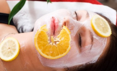 Mascarilla de naranja para el acné
