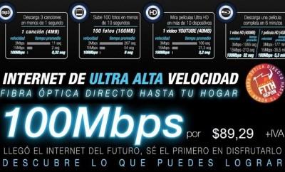 Netlife plan internet de 100Mbps