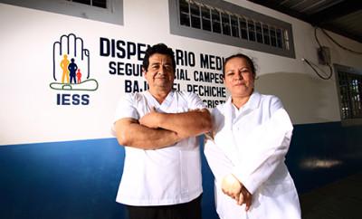 Seguro social campesino - Dispensarios médicos