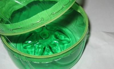 realizar un monedero con botellas de plástico