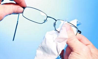 Como limpiar los lentes sin rayar
