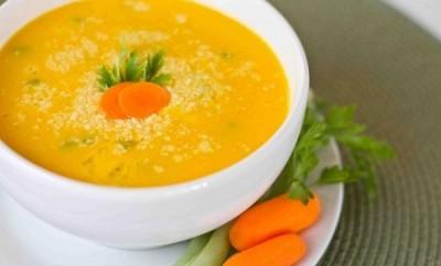 Crema de zanahoria para el estreñimiento y la anemia