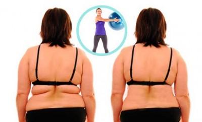 Ejercicios para eliminar la grasa de la espalda