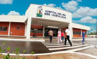 hospital del Día del IESS en Nueva Loja