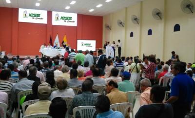 El IESS explica en ciudades del país logros del Seguro de Pensiones