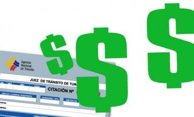 Pago de multas de tránsito ANT Ecuador