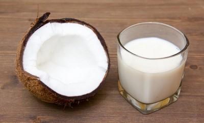 Receta de leche de coco