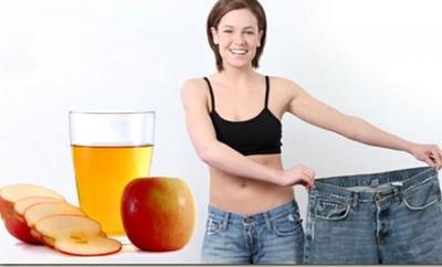 Vinagre de sidra de manzana para bajar de peso