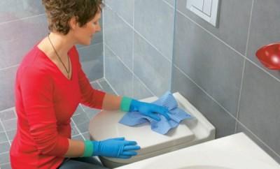 Vinagre y bicarbonato para limpiar los baños