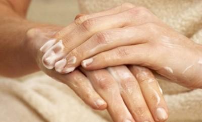 Eliminar las manos resecas