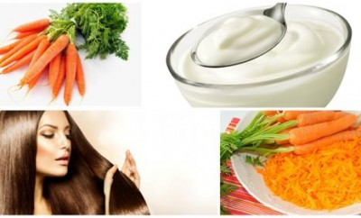 Mascarilla de zanahoria para el cabello