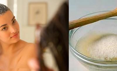 Mascarillas de gelatina para el cabello