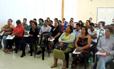 Representantes del Seguro Social Campesino participan en taller del Buen Vivir