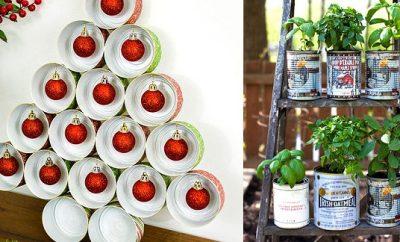 Ideas para reciclar latas grandes
