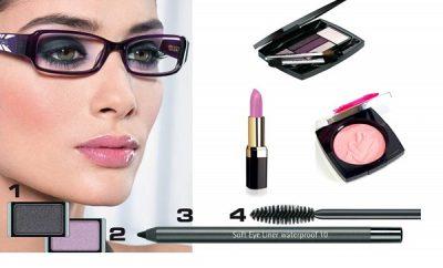 Maquillaje para mujeres con lentes