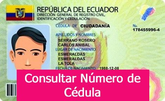 Cédula Ecuador