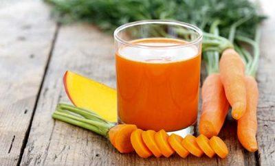 Receta Jugo de zanahoria para adelgazar
