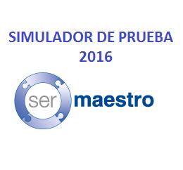 Simulador de prueba Ser Masetro 2016