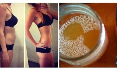 Bebida casera para bajar de peso rápidamente