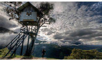 La casa del árbol Baños de Agua Santa Ecuador