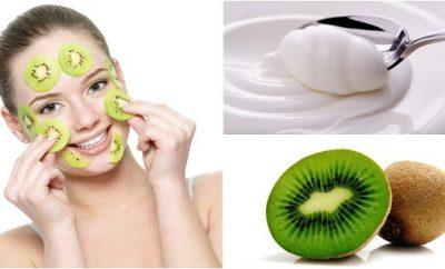 Mascarilla de kiwi para piel grasa