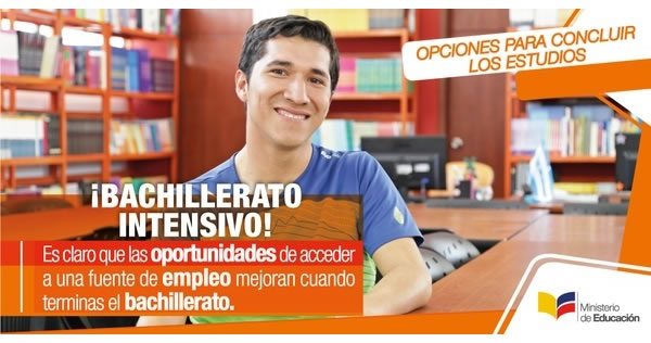 Inscripciones Bachillerato Intensivo, Requisitos bachillerato intensivo Ecuador