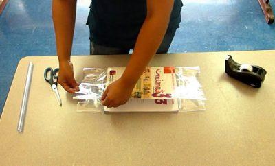 Cómo forrar libros y cuadernos con papel contac