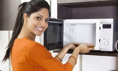 Cómo limpiar un microondas con vinagre