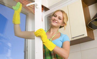 Cómo limpiar vidrios de ventanas con vinagre