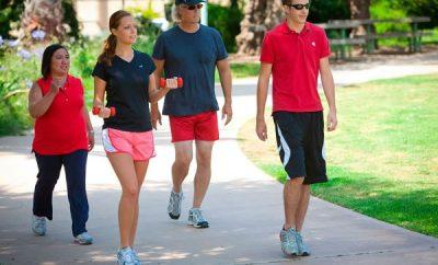 Cuántos kilómetros debo caminar para bajar de peso