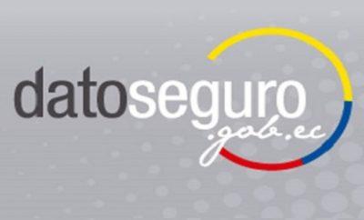 DatoSeguro www.datoseguro.gob.ec