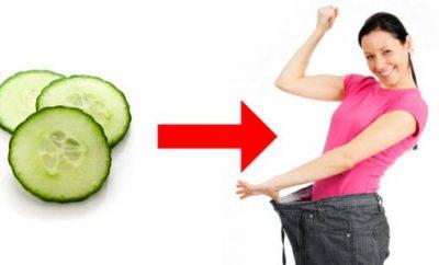 Dieta del pepino para bajar 3 kilos en 3 días