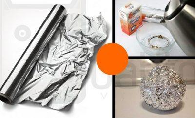 Diferentes usos del papel aluminio