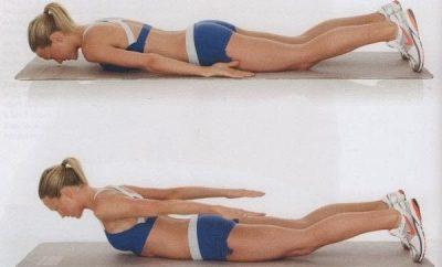 Ejercicios para adelgazar la espalda