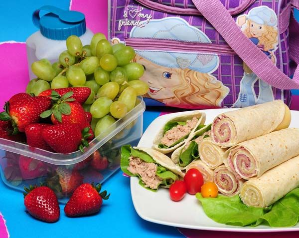 Ideas de lunch para niños