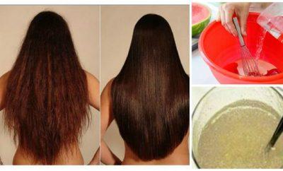 Mascarilla casera para cabello maltratado