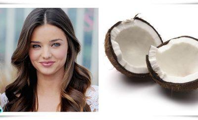 Mascarilla de leche de coco para el pelo