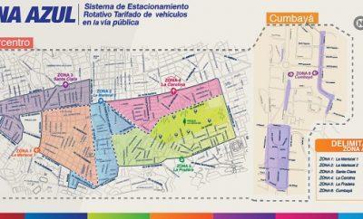 Parqueaderos Zona azul Quito