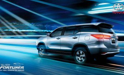 Precio Toyota Fortuner 2017 ecuador