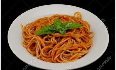 Receta Tallarines con salsa de tomate